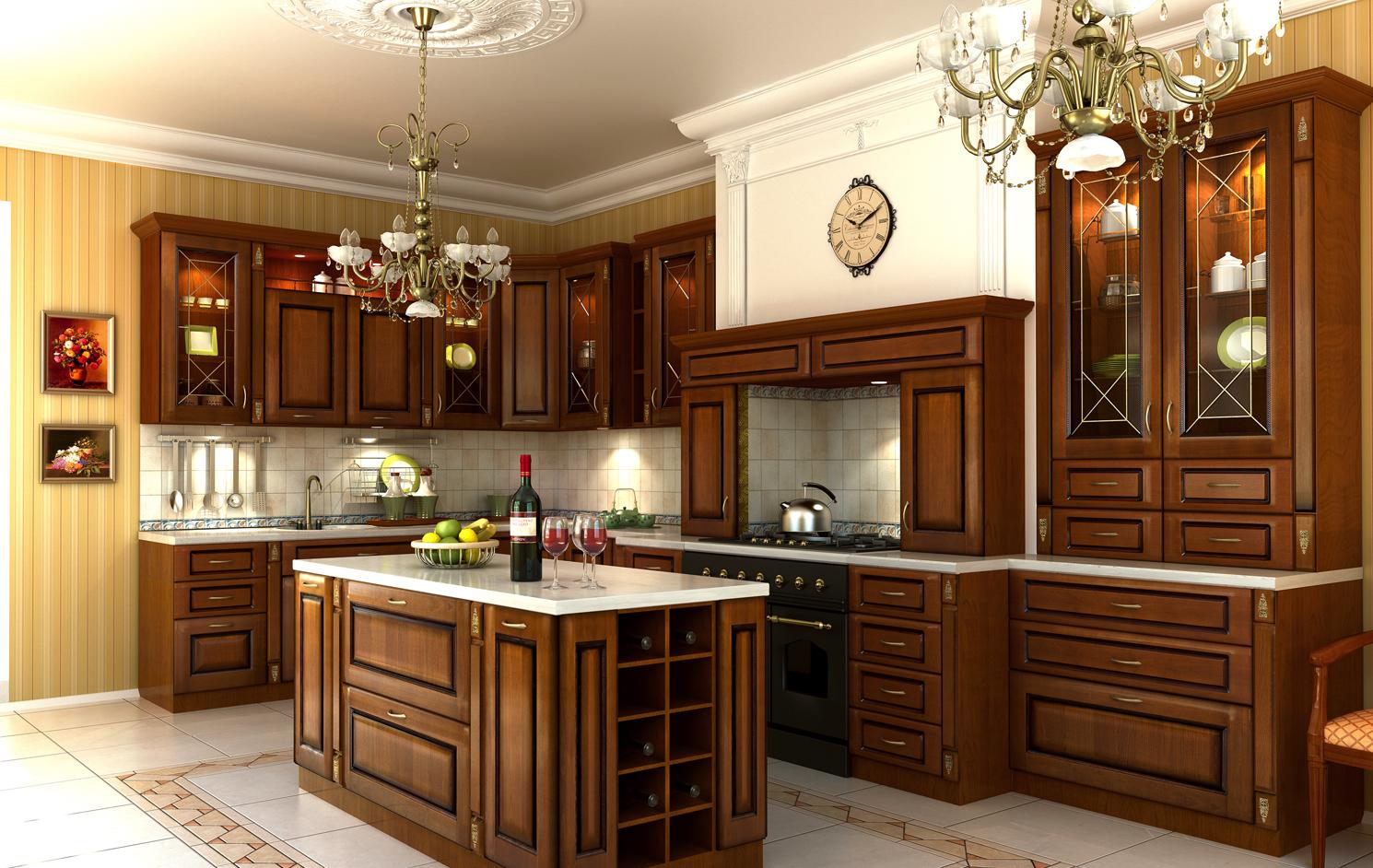 Модульные кухни по элементам