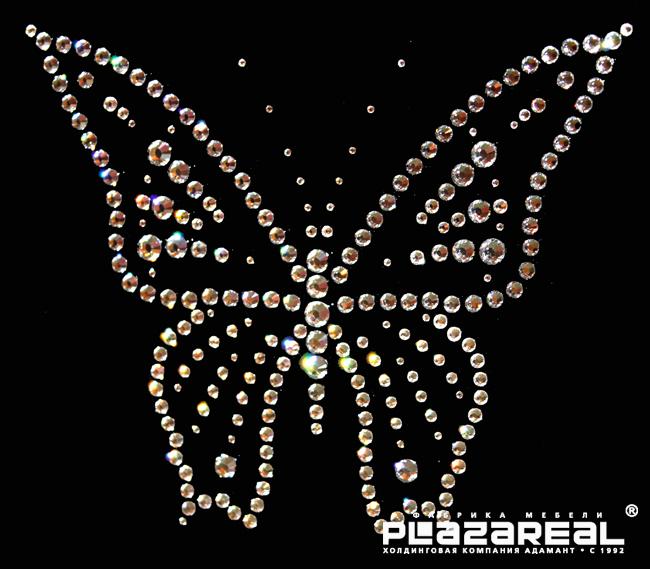 Бабочки стразами своими руками
